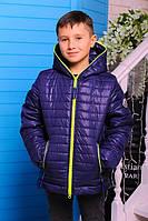 Демисезонная модная куртка для мальчика Монклер-2