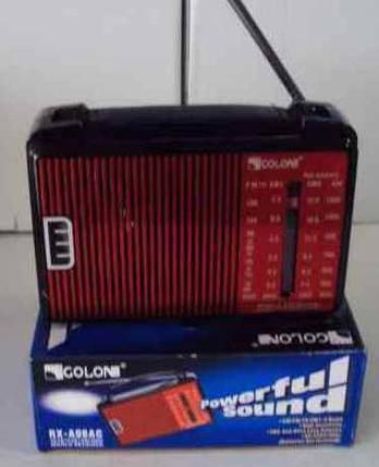 Радиоприемник. Радио Golon RX-A08AC, 3,5 мм. FM-радиоприемник, фото 2