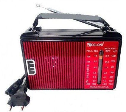 Радиоприемник. Радио Golon RX-A08AC, 3,5 мм. FM-радиоприемник