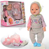 Пупс Baby Born, 9 фунций, 2 соски, в коробке (ОПТОМ) BB 8009-445B