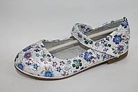 Детские туфельки для девочек весна 2017 от фирмы Леопард WE84-16 (8пар, 26-31)
