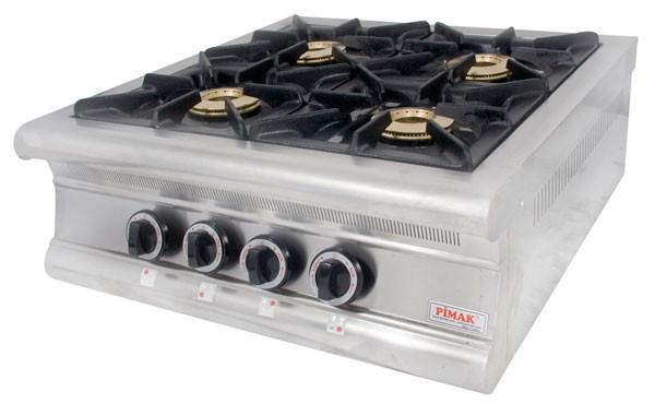 Плита газовая Pimak МО15-4N (с газовым контроллером)