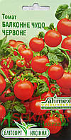 """Семена  томата Балконное Чудо красное, скороспелый 0,1 г, """"Елiтсортнасiння"""", Украина"""