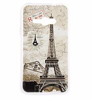 Силиконовый бампер для Samsung Galaxy J1 Ace J110 с картинкой Париж открытка
