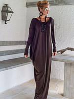 Дизайнерское платье из качественного трикотажа