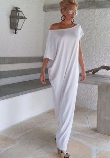 Дизайнерское платье из трикотажа
