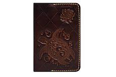 Обкладинка на паспорт, з кишеньками