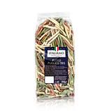 Макароны цветные Italiamo «Fusilli Pugliesi Tris» со шпинатом и томатами, 500 г., фото 3