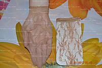 Носки капроновые, гипюр,бежевые