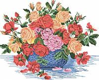 """Живопись камнями """"Букет роз"""""""