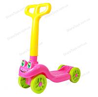 Самокат для детей 4х-колесный Розовый