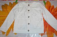Джемпер белый, девочке,р.110,116,122, фото 1