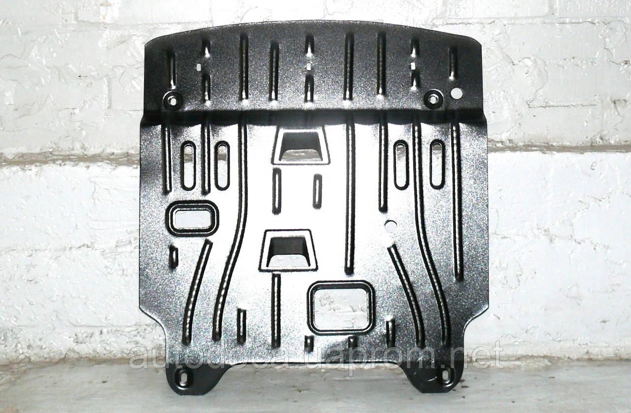 Защита картера двигателя и акпп Hyundai Accent  2010-