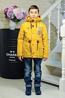 Куртка-парка демисезонная для мальчика Анри
