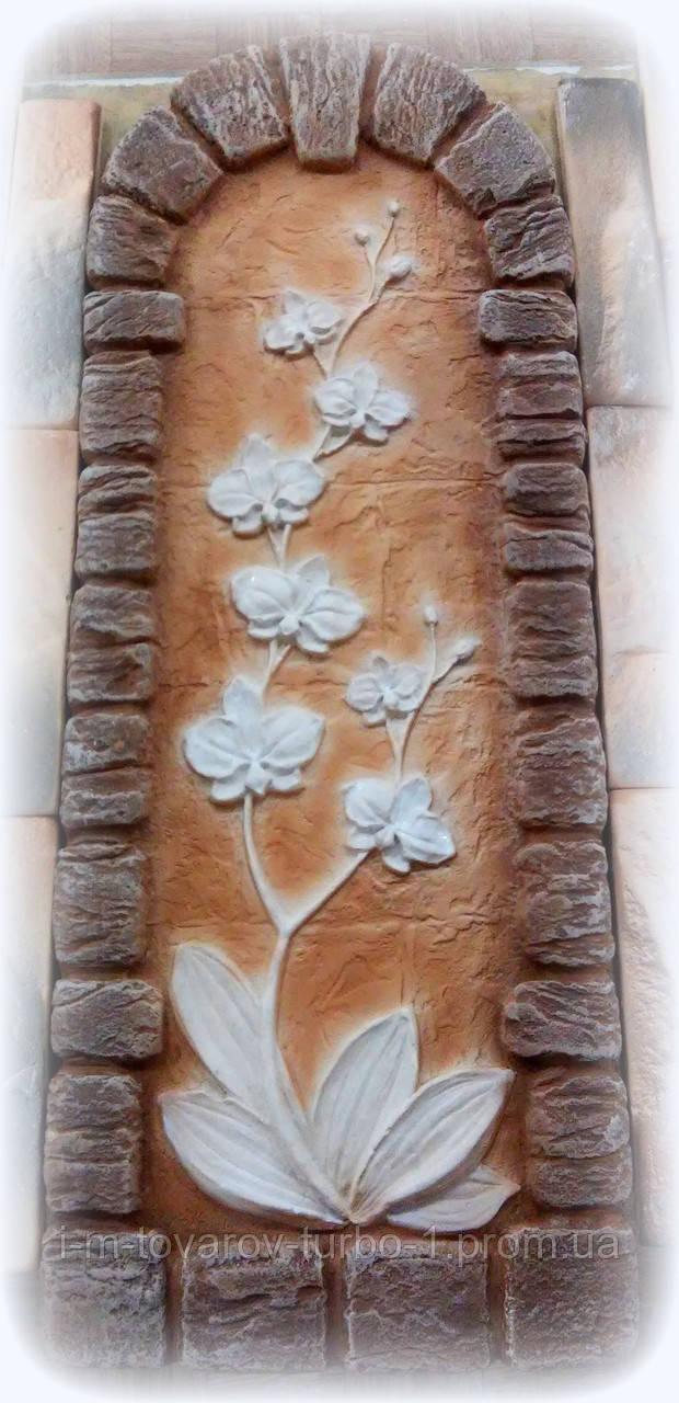 Гипсовая картина Орхидея 2