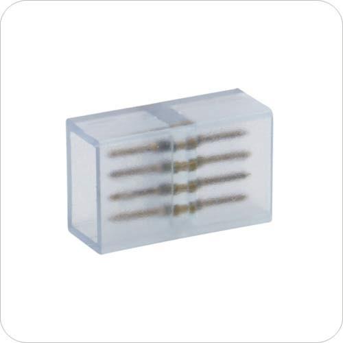Коннектор для светодиодных лент 220В, 4pin 12mm