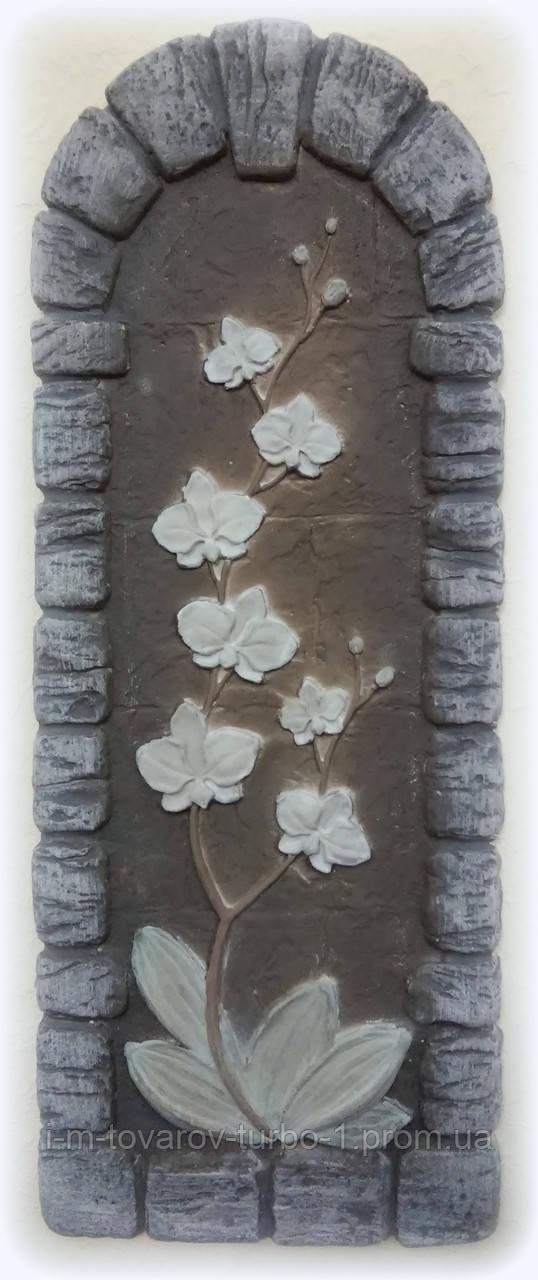 Гипсовая картина Орхидея 3
