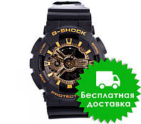 Часы Casio G-Shock GA-110 Black Gold