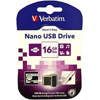 Флешка USB 2.0 16 Gb Verbatim STORE'N'GO NANO