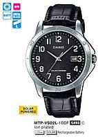 Мужские часы Casio MTP-VS02L-1BDF оригинал