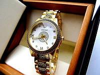 Versace Gold - кварцевые женские часы отличная копия