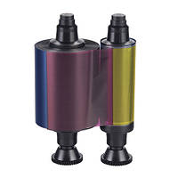 Полупанельная цветная лента YMCKO Evolis R3013 Half-panel (400 отпечатков — принтер Pebble 4, Securion)