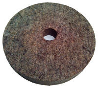 Войлочный круг для станка 200х25х32 мм.