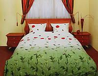 Комплект постельного белья Красные маки