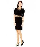 Плаття вишите жіноче Чорне 40-52 рр