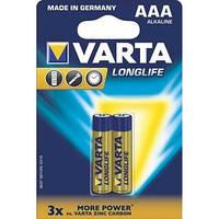 Батарейка VARTA LONGLIFE AA BLI 2 ALKALINE