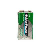 Батарейка GOLDEN POWER Long Life 6F22 Shrink 1 Zinc-Carbon