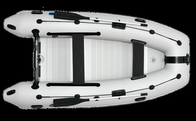 лодки с алюминиевым пайолом - лодки с алюминиевым дном купить  - Omega 330 KU ALF серии LUX