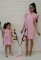 Комплект платьев 650 грн мама 350 грн + дочка 300 грн