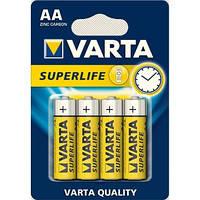 Батарейка VARTA SUPERLIFE AA BLI 4 ZINC-CARBON