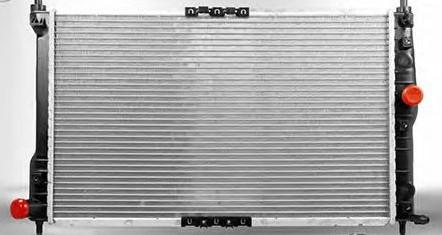 Радиатор Охлаждения Daewoo Lanos 1.5 Ланос 1.6 (Без Кондиционера) АМЗ