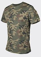 Термофутболка тактическая Helikon-Tex® Tactical T-Shirt - PL Woodland