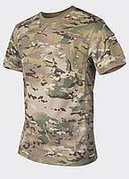 Термофутболка тактическая Helikon-Tex® Tactical T-Shirt - Мультикам