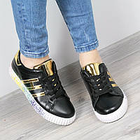 Кроссовки женские Rihanna Wild черные, обувь дропшиппинг