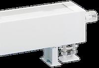 Конвектор напольный Kermi KSV (С встроенным вентильным блоком и экраном теплового излучения)