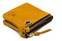 Кожаный кошелек ручной работы Gato Negro Espacio, рыжий (кошельки из натуральной кожи)