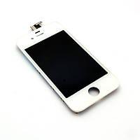 Дисплей (экран) Apple iPhone 4, белый, с сенсорным стеклом