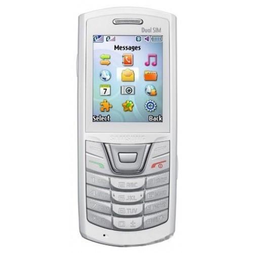 Samsung E2152 панель передняя со стеклом белая оригинал