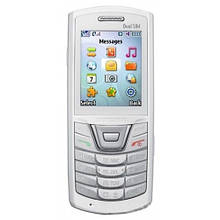 Samsung E2152 передня панель зі склом біла оригінал