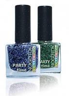 NOGOTOK лак для ногтей с блестками (Nogotok Party time) 10 мл.