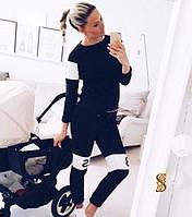 Спортивный костюм женский Спортс черный , одежда женская