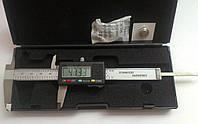Штангенциркуль электронный VERNIER 100 (T304B. W-1210) металический D - 100 мм, точность 0,01 мм, с бегунком, фото 1