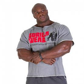"""Мужская футболка для бодибилдинга """"GORILLA WEAR"""""""