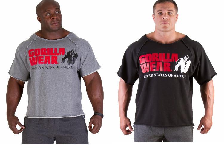 """Чоловіча тренеровочная футболка """"GORILLA WEAR"""""""