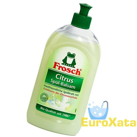 Органическая жидкость для мытья посуды FROSCH Spül-Balsam Citrus (500 мл)