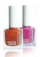 NOGOTOK Лак для ногтей Glitter cream  с блестками  10 мл.